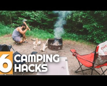 Top 6 Camping Hacks and Tips Camping for Beginners