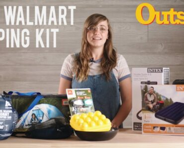 We Went Camping with a $140 Kit from Walmart |