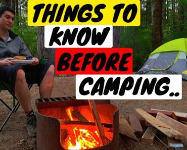 Camping for the first time? You NEED to watch this