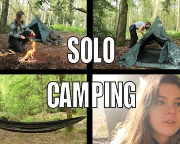 Should you Solo Camp ? Tips on Camping Alone
