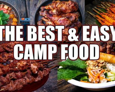 The Best & Easy Camp Food I Made For Our