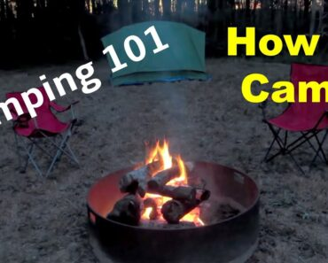 Camping 101 for Beginners