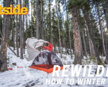 How to Camp in the Winter Without Dying