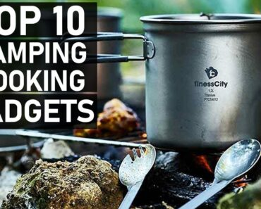 Top 10 Camping & Outdoor Cooking Gadgets You Should Have