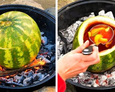 UNUSUAL WAYS TO COOK OUTDOORS    5-Minute Recipes to Make