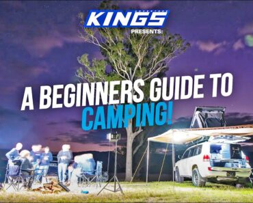 EPISODE ONE! A Beginners Guide to Camping