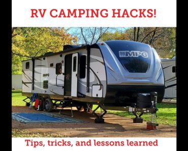 Camping with an RV: Tips and Tricks