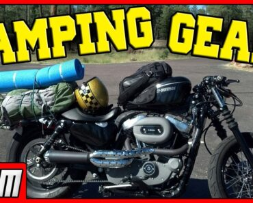 6 Motorcycle Camping Tips and Equipment
