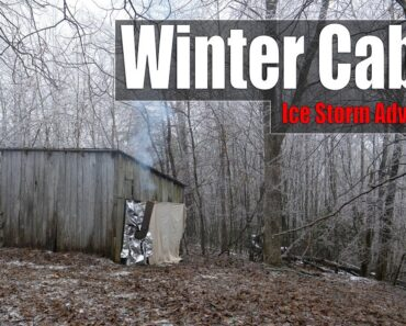 The Winter Cabin Ice Storm