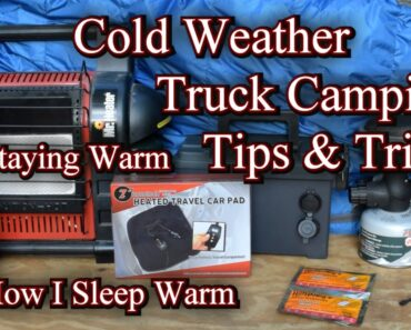 Truck Camping in Cold Weather