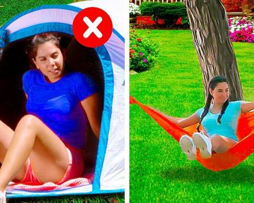 COOL AND EASY CAMPING HACKS    5-Minute Decor Tips to