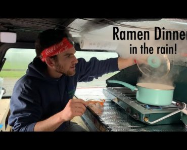Truck Camping: How do I cook when it rains?