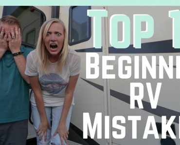 Top 10 Beginner RV Mistakes (And How To AVOID Them!)