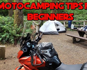 Five Motocamping Tips for Beginners: Motorcycle Camping Tips to Improve