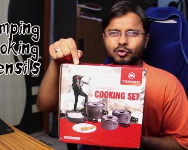 Camping Tips: 4 person Camping Cookset Unboxing & Review