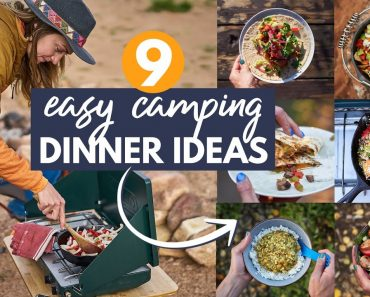 9 EASY Camping Dinner Ideas: My go-to Car Camping Meals