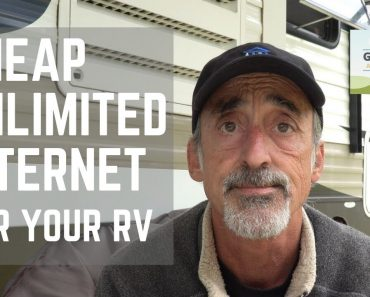 Ep. 117: Cheap Truly Unlimited Internet for Your RV |