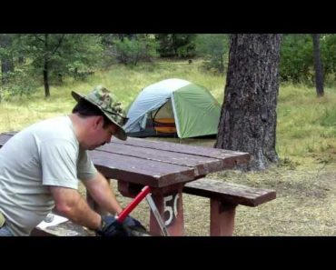 Camping Gear Review Sven Folding Saw