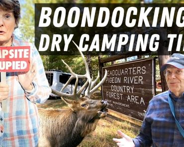 Boondocking & Dry Camping Tips